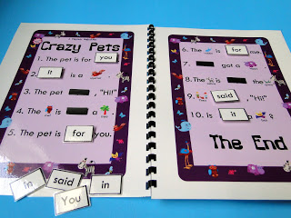 Crazy Pets Sight Word MagnetMat Giveaway