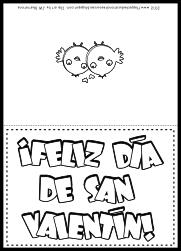 Spanish Valentine Card