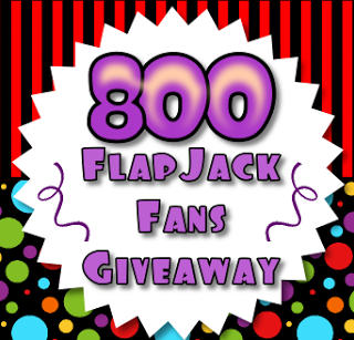 800 FlapJack Fans Giveaway!