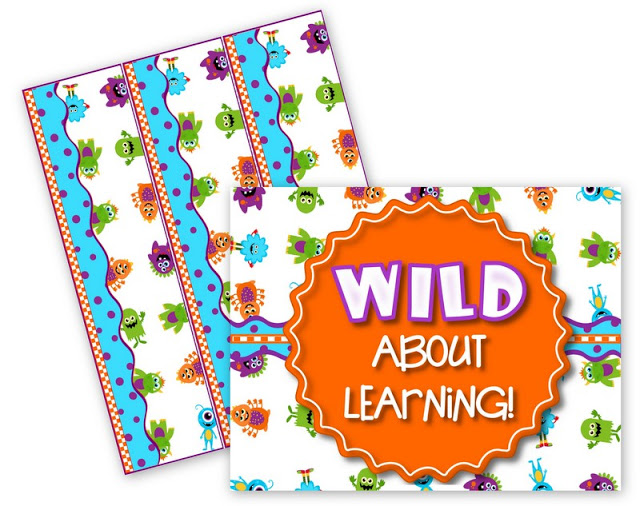 Monster Bulletin Board Set FREEBIE and Other Sets