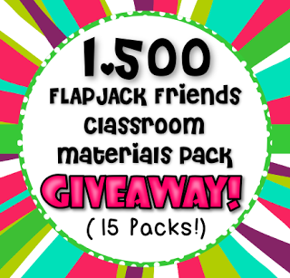 1,500 FlapJack Friends Classroom Pack Giveaway