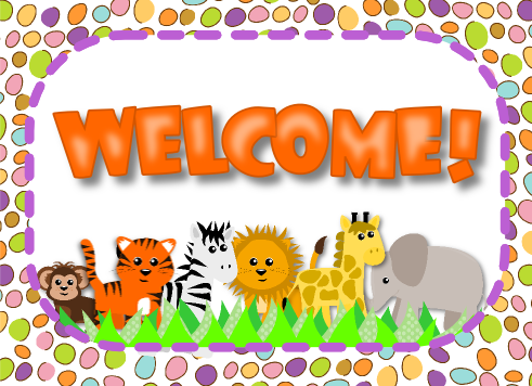 Jungle Safari Welcome Postcard FREEBIE and Pack - FlapJack