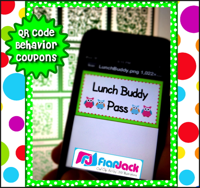 QR Code Behavior Coupon FREEBIE