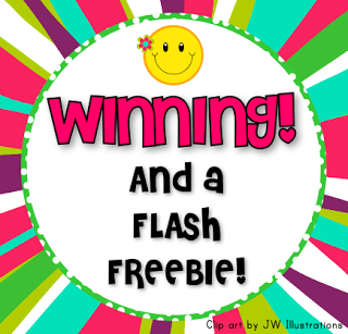 Classroom Pack Winners and Flash Freebie for All!