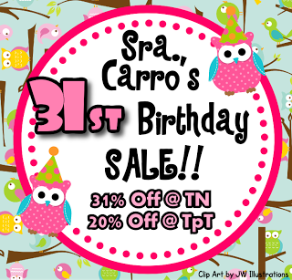 My 31st Birthday Sale! Today Only!