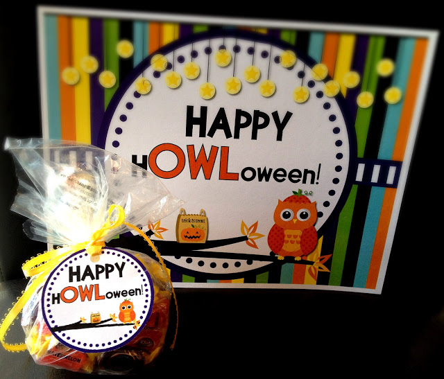 "Winners and FREE H""OWL""oween Door Sign and Gift Tags"