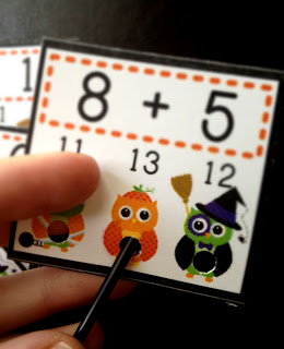 "Tuesday Giveaway – H""OWL""oween Math Packs!"