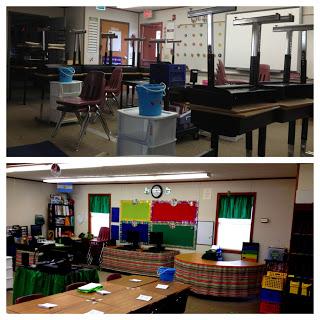 My Green Theme Classroom