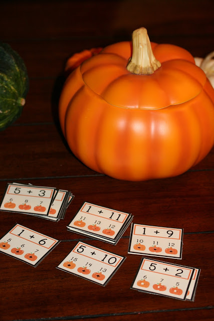 Candy Corn Counting & Numbers Words Poke Game FREEBIE