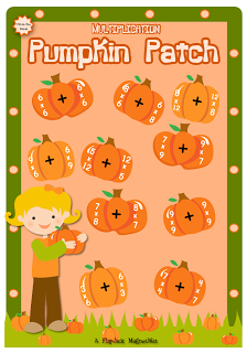 Tuesday GIVEAWAY – Multiplication Pumpkin Patch