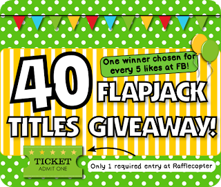 """Forty FREE FlapJack Titles of Choice"" Giveaway!"
