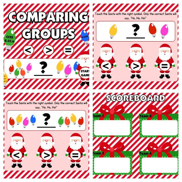 Holiday Smart Board Freebies!