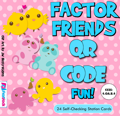 Factor Friends Activity Bundle