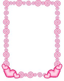 FREE Swirlie Heart Border