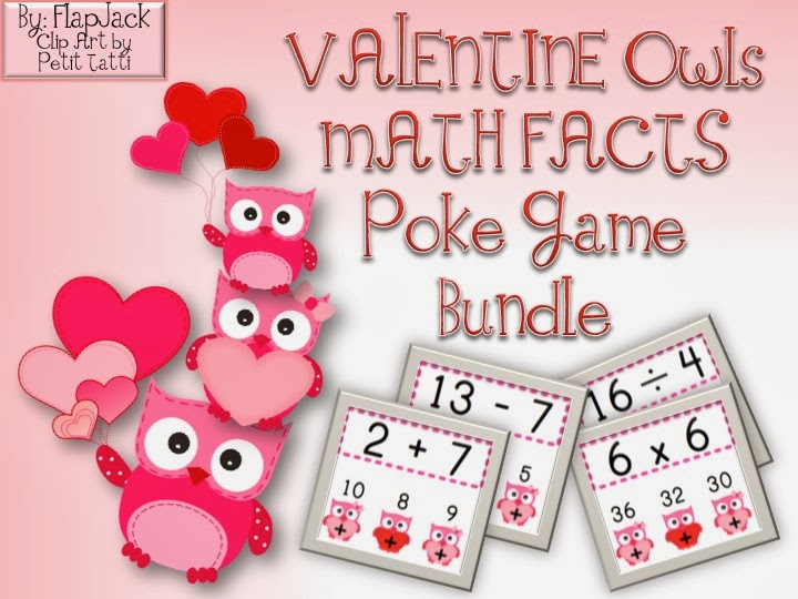 http://www.teacherspayteachers.com/Product/VALENTINE-Owl-Poke-MATH-FACTS-Bundle-1067818