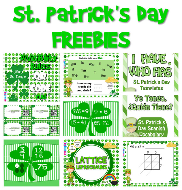 St. Patrick's Day FREEBIES!