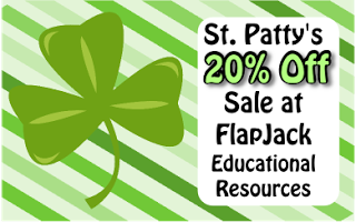 St. Patrick's Day Sale at FlapJack