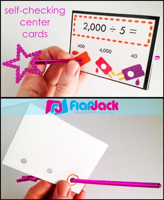 Self-Checking Center Cards (Poke Cards)