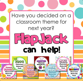 FlapJack Classroom Materials Packs