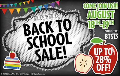Finally! The Back to School TpT Sale Has Arrived!
