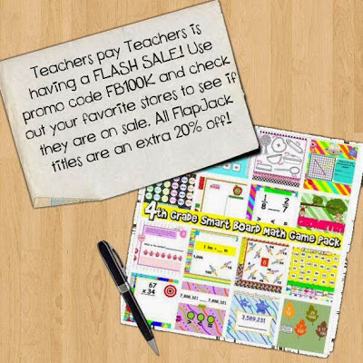 TpT Sale – 28% Off FlapJack Favorites!