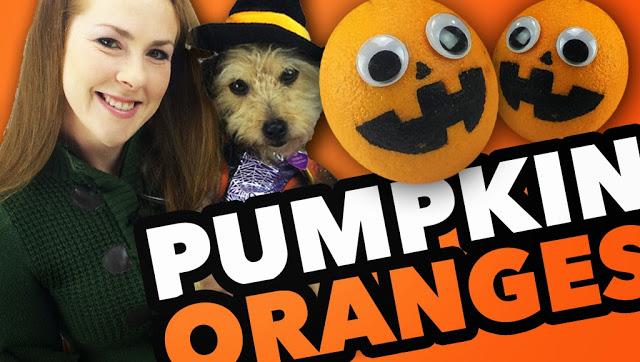 Pumpkin Jack-O-Lantern Oranges Students Gift Idea for Fall Halloween