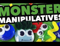 Monster Manipulatives & Counting Up Subtraction