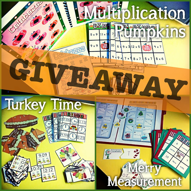 Seasonal Math Fun Pack Giveaway