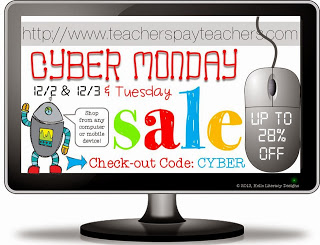 TpT Cyber Sale!! Dec. 2nd and 3rd!!