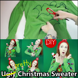 Ugly Christmas Sweater Tutorial to Motivate Your Students!