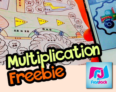 500 YouTube Subscribers Multiplication Facts Freebie!