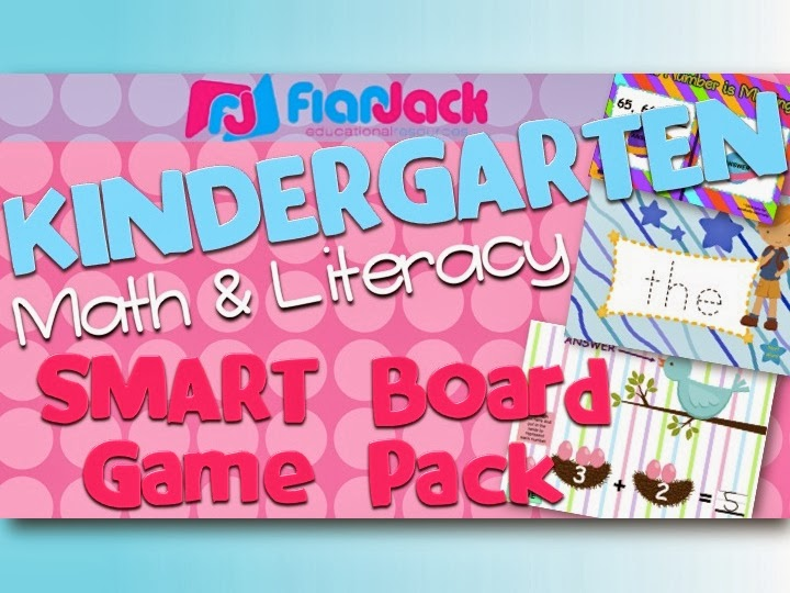 Kindergarten Smart Board Game Pack 50% OFF Today Only!