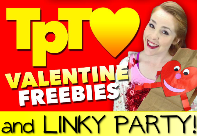 Valentine TpT Freebies and Linky Party!