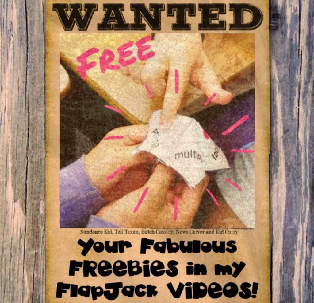 I Need your Freebie in my Video!!!