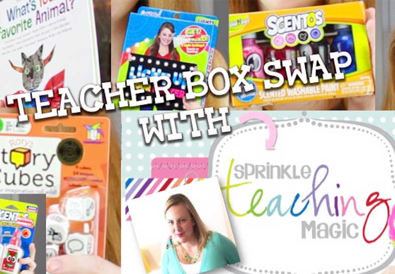 Teacher Box Swap Fun with Sheila Jane of Teaching Magic!