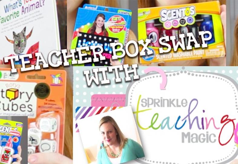 Teacher Box Swap Fun with Sheila Jane of Teaching Magic!