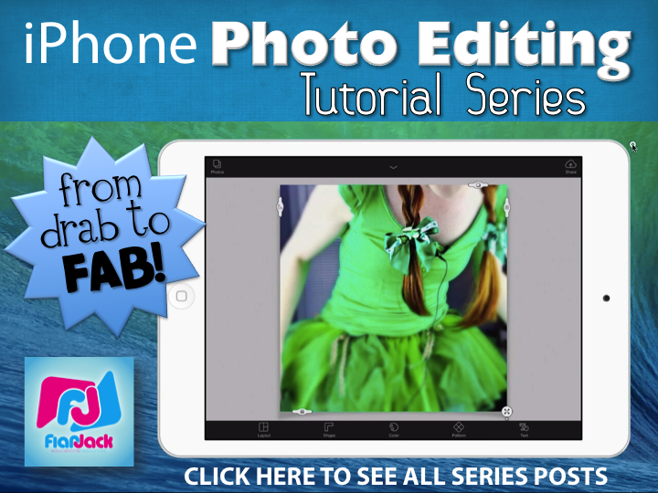 {iPhone Photo Editing Tutorial Series} From Drab to Fab: Video 2 – Facebook Cover Photo Collages