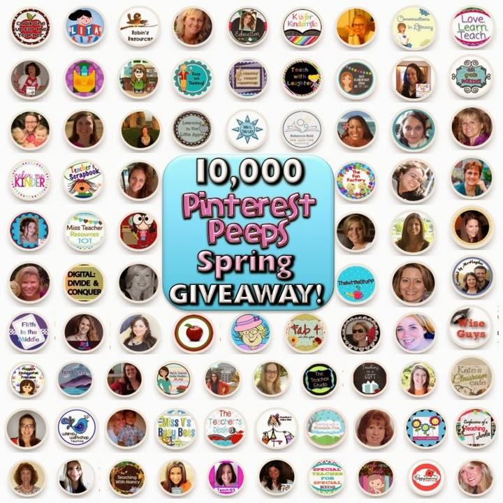 10,000 Pinterest Peeps Spring GIVEAWAY! It's Huge!