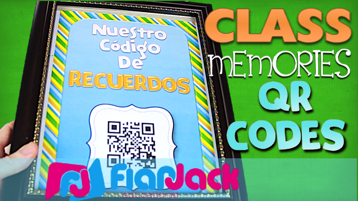 Classroom Memories QR Codes with a FREEBIE (in Spanish, too!)
