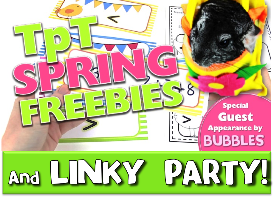 Spring TpT Freebies Video and Linky Party!