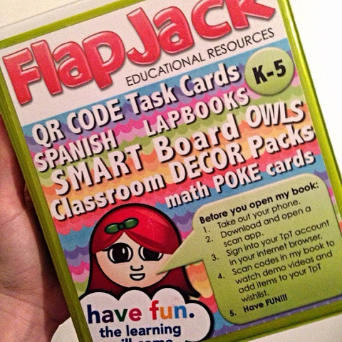 My Little FlapJack Promo Book