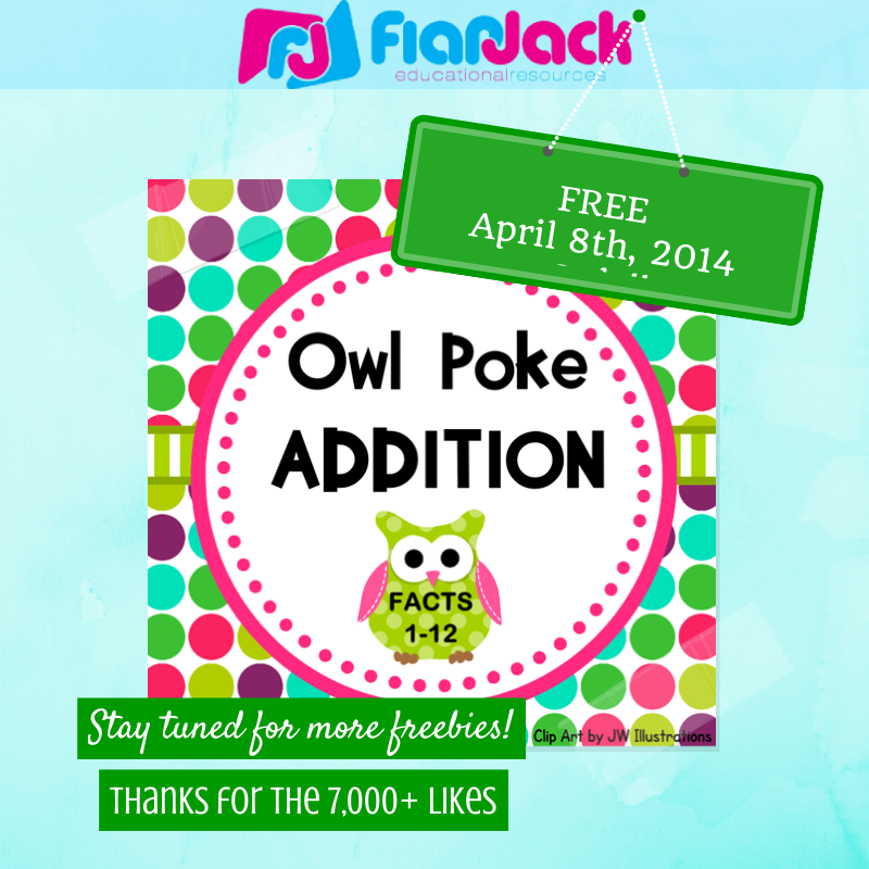 http://www.teacherspayteachers.com/Product/Owl-Poke-Addition-Facts-1-12-331870
