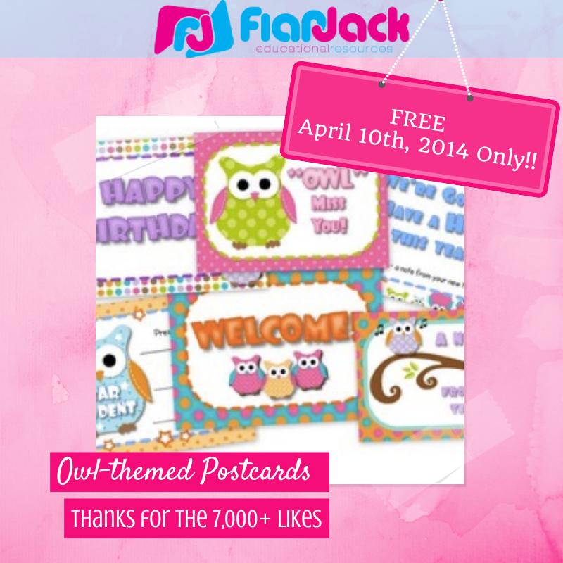 http://www.teacherspayteachers.com/Product/Owl-Themed-Postcards-267124