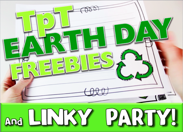 Earth Day Go Green Freebies and Linky Party!