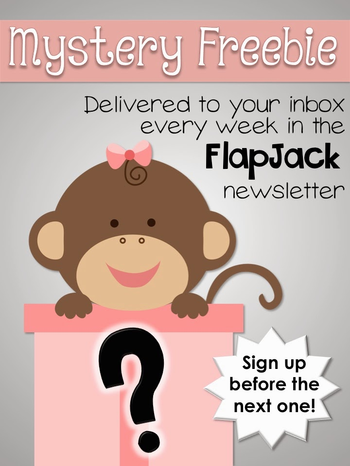 Mystery Weekly Freebies at the FlapJack Store