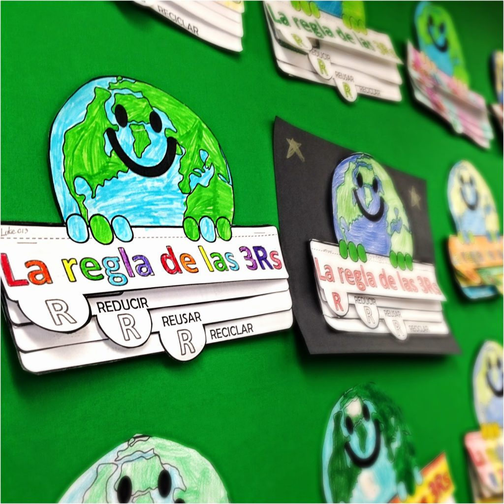 Happy Earth Day with Lita Lita's 3 R's Bilingual Foldable!