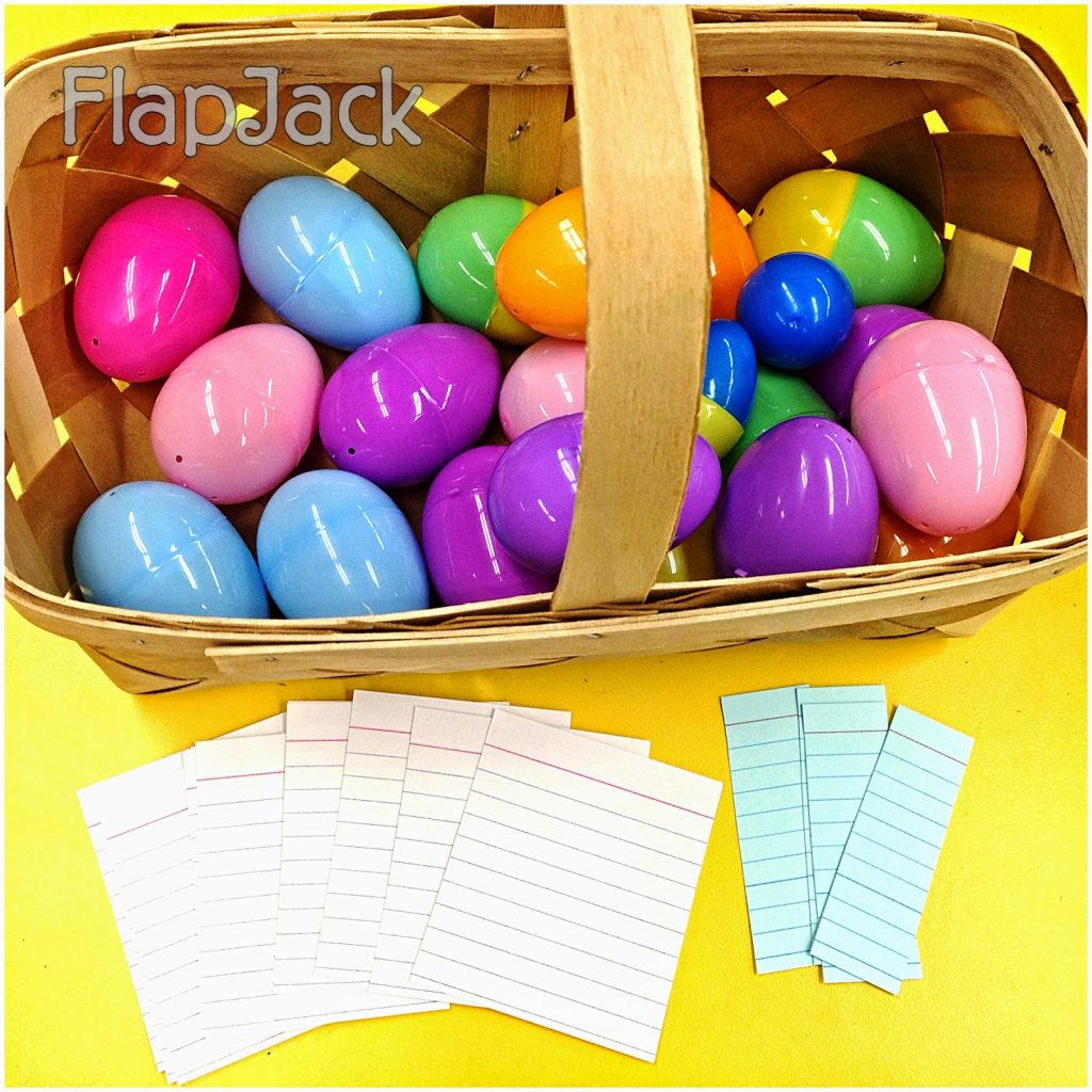 Bright Ideas: Student-Created Egg Hunt Review Activity – Minimal teacher Prep!