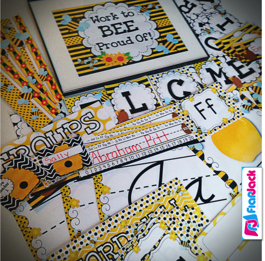 BEE Freebie Behavior Coupons, Ideas, and Classroom Decor Pack