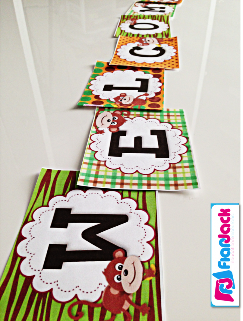 Classroom Decoration Freebies ~ Monkey behavior coupons freebie ideas classroom decor pack