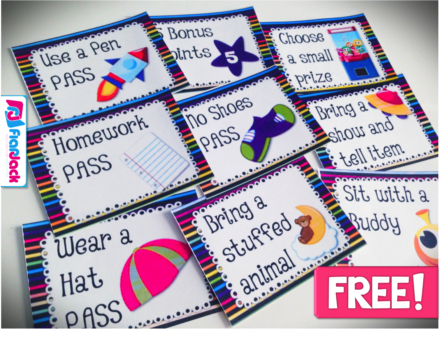Classroom Decoration Freebies ~ Space behavior coupons freebie ideas classroom decor pack